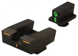 R4E Optimized Duty Sight Set Full Size Glock Only Green Front/Orange Rear - ML12224G/O