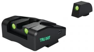 Ad-Com Sights Adjustable Combat Sight for Kahr K/P/MK/PM Sub-Compact Pistols Green/Green - ML25123G