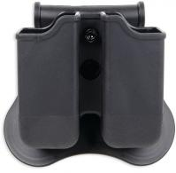 Polymer Magazine Holders fits Most 1911 Single Stack Magazines Black Ambidextrous - P-1911M