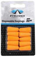 DP1000 Uncorded Taper Fit Disposable Ear Plugs 5 Pair Per Card - PYDP1000