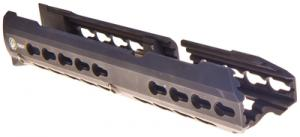 BattleRail AK47 Bottom Short KeyMod Ten Inch Black