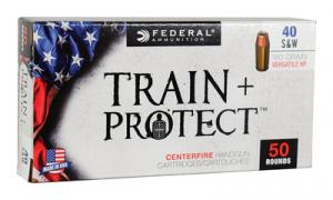 Federal Train + Protect .40 S&W 180 Grain VHP 50 Per Box