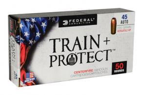 Federal Train + Protect .45 ACP 230 Grain VHP 50 Per Box