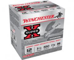 "Winchester 12GA 3"" #3 STEEL 1 1/16OZ SUPERX 25/10"