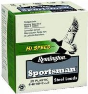 "REM SPORTSMAN STEEL 12GA 3"" 1 1/4oz #4 25/10"