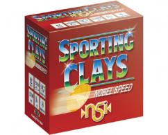 "NOBEL SPEED SPORT CLAY 12GA 2.75"" 1 1/8OZ #7.5"