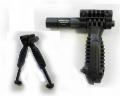 MG FOREGRIP VERT W/INCOR BIPOD AND FLASHLIGHT - TPODSL