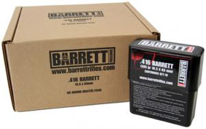 BARR AMMO 416BARR 395GR VLD TURNED BRASS 80RD - 41680