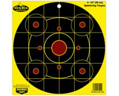 "BC DIRTY BIRD 12"" BULL'S EYE YELLOW SIGHT IN 4PK - 35912"