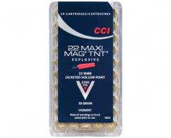 CCI AMMO .22 MAG  HP MAXI MAG TNT 50BOX 40/CASE - 63
