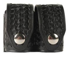 HKS CASE BASKETWEAVE BLK DBL SIDE BY SIDE - 203BMED
