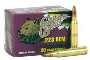 BEAR GOLDEN 223REM 62GR SP 20/25