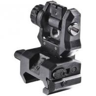 CAA REAR SIGHT AR15 LOW PROFILE FLIP UP BLACK - FRS