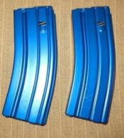 CPD MAG AR15 223REM 30RD BLUE ALUMINUM - 3023005175CPD