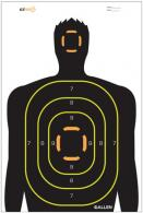 ALLE EZ SEE SILHOUETTE TARGET BLK 5PK - 15229