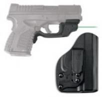 CTC LASERGUARD SPR XDS W/ BLADETECH HOLSTER GRN - LG-469G-HBT