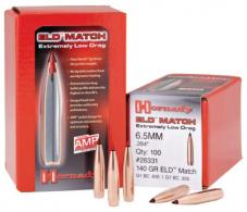Hornady 6.5mm .264 140gr ELD Match 100ct - 26331