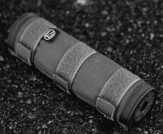 SILENCERCO SUPPRESSOR COVER BLACK 7.6 - AC1978