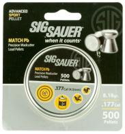 SIG PELLETS 177CAL MATCH LEAD 500CT - AIRAMMOMATCHPB177500