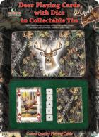 RIVERS EDGE CARDS & DICE TIN - 1569