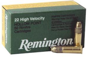 REM AMMO .22 LONG RIFLE 50-PK