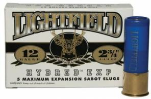 LIGHTFIELD SLUGS 12GA 2-3/4""