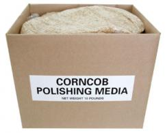 CORNCOB POLISHING MEDIA 10LB. - CORN10