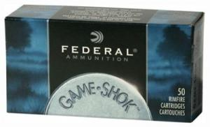 FED AMMO .22LR 1260FPS. 38GR. COPPER PLATE HP 50-PACK