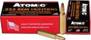 ATOMIC AMMO .223 Remington 112GR. - 00483