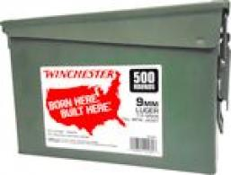 WIN AMMO 9MM LUGER (CASE OF 2)
