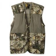 BRN DOVE VEST SOLID/MESH RT XTRA - 30510324-M