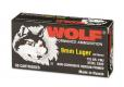 WOLF 9MM 115GR FMJ STEEL CASE