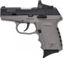 SCCY CPX2-CB W/RED DOT DAO 9MM - CPX2CBSGRD