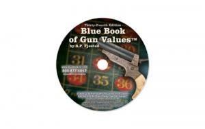 BLUE BOOK GUN VALUES 34TH EDIT CD-RM - P34CDROM