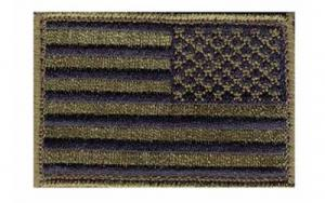 BlackHawk PATCH AMERICAN FLAG RVRSD TAN/BLK - 90DTFV-R