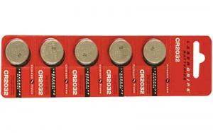 CTC CR2032 BATTERY- 5 PK - 26-1012