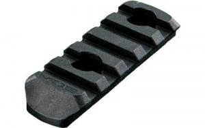 Magpul MAG406-BLK MOE Polymer Rail Section L2 5-Slot Black - MAG406BLK