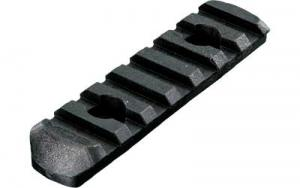 Magpul MAG407-BLK MOE Polymer Rail Section L3 7-Slot Black - MAG407BLK