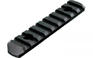 Magpul MAG408-BLK MOE Polymer Rail Section L4 9-Slot Black - MAG408BLK