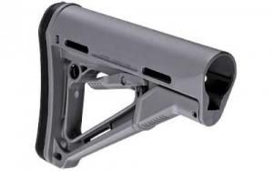 Magpul MAG311-GRY AR-15 Commercial-Spec CTR Carbine Stock Gray - MAG311GRY