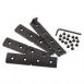 LWRC IC/REPR/SIX8 RAIL PANELS BLK(3) - 200-0103A01