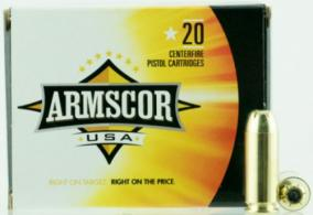 ARMSCOR 10MM 180GR JHP 20/500 - FAC10-3N
