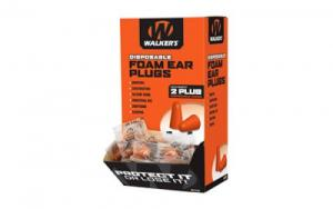 WALKER'S FOAM EAR PLUGS 200PK BOX - GWP-FOAMPLUG200