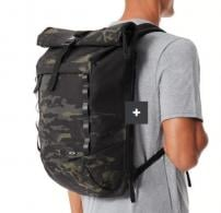 OAK VOYAGE ROLL TOP BLK MC BACKPACK - 92968P-02L