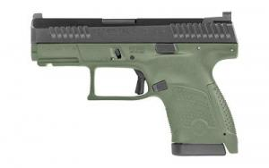 "CZ P-10S 9MM 3.5"" Olive Drab Green Night Sights 12RD - 91565"