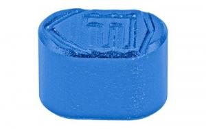 FORTIS MAGAZINE BUTTON BLUE - AR15-MB-6061-BL
