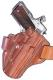 Galco Belt Holster w/Open Muzzle For Glock Model 17/22/31