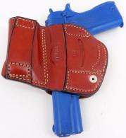 Premium Quality Gazelle Brown Belt with Magazine Holder Holster for GLOCK 17, 22, 31