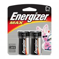 2 Pk, C Energizer Max Battery - E93BP-2