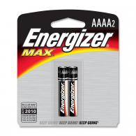 2 Pk, AAAA Energizer Max Battery - E96BP-2